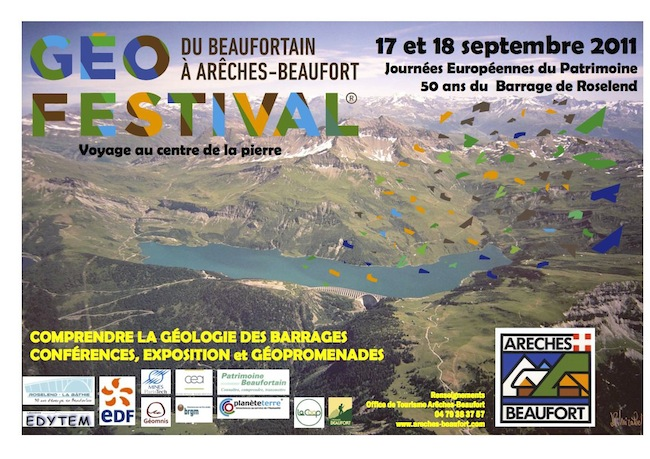 Affiche Geofestival Beaufortain 2011 FINAL