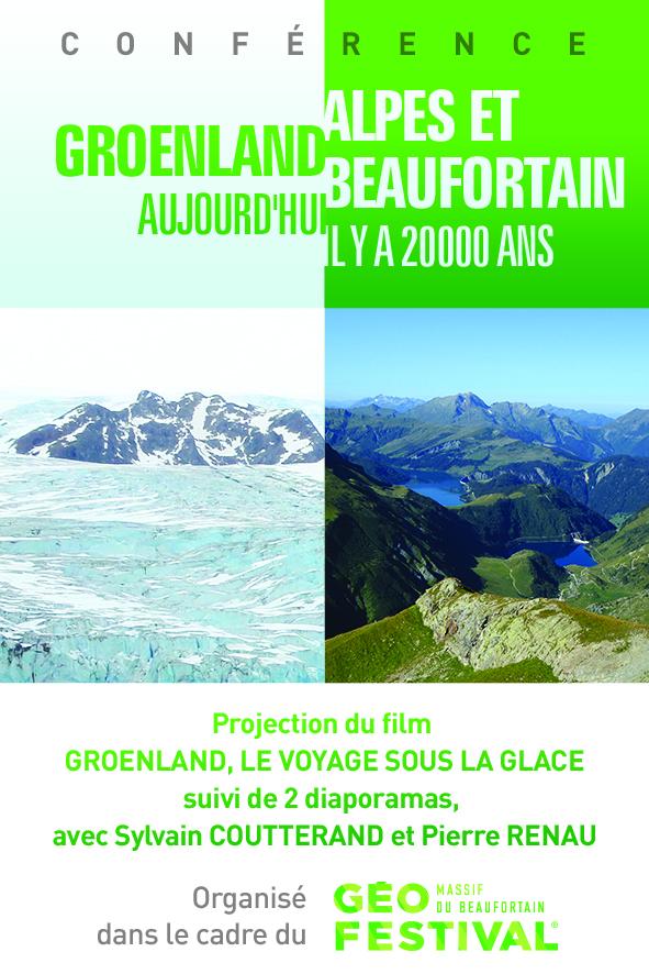 Groenland-Beaufortain 20000 ans - 5x7,5cm vA